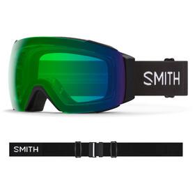 Smith I/O MAG Goggles black/chromapop everyday green mirror